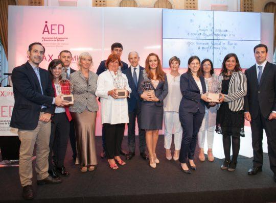 Acto de Entrega del Premio Empresarial AED
