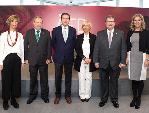 Jornada 'Nuevos Liderazgos' con la presencia de Antonio Garamendi, presidente de la CEOE
