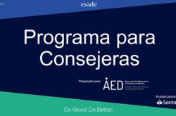 Finaliza el primer programa en Euskadi para formar a Consejeras, puesto en marcha por AED