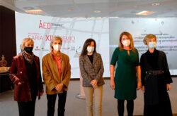 Mercedes Aguirre, Nuria Gisbert y Ana Santiago, ganadoras del Premio Empresarial AED 2020